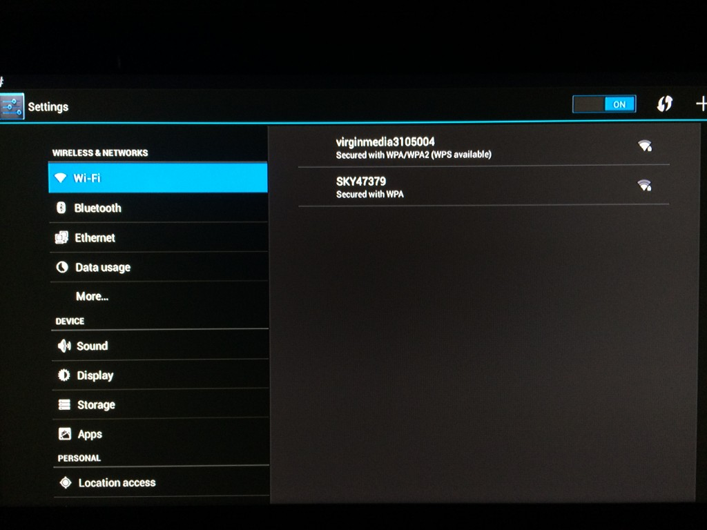 Configure Network Settings Wifi/Ethernet on the DroidPlayer Android Box